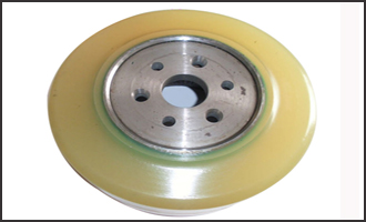 polyurethane conveyor wheel